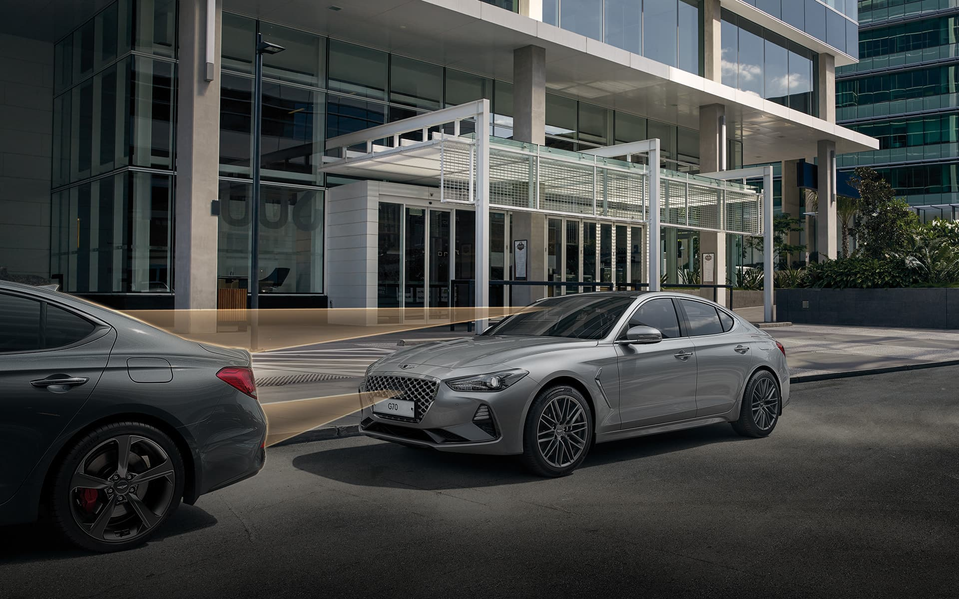 GENESIS G70 Safety Features - 전방 충돌방지 보조